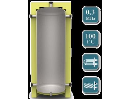 Отопительный аккумуляторный бак ЕА-00 1000л  без изоляции Kuydych