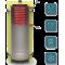 Отопительный аккумуляторный бак EA-10-2000-X/Y - с изоляцией 100мм Kuydych