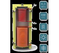 Отопительный аккумуляторный бак EAI-11-1000-X/Y без изоляции