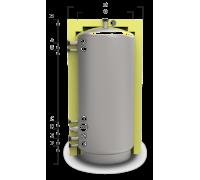 Отопительный аккумуляторный бак ЕАН-00 300л - с изоляцией