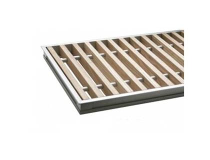 Комплект S 300/3000 (рамка ZN + деревяная решетка) Сатин Carrera