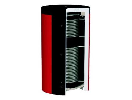 Отопительный аккумуляторный бак EAI-10-2000-X/Y, с изоляцией Kuydych