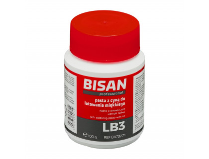 Паста для пайки LB3 (олово 60%+флюс 40%) Bisan