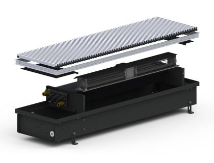 Конвектор внутрипольный 4SV2 (Black) 295/1750/120 + вентилятор Carrera