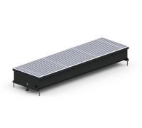 Конвектор внутрипольный SV-(Black) 300/5000/75 + вентилятор