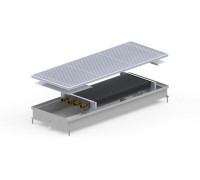 Конвектор внутрипольный S2-(Inox) 380/3500/90