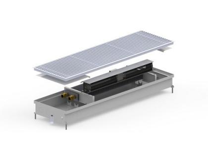 Конвектор внутрипольный CV2-(Inox) 380/1500/90 радиус Carrera