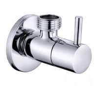Кран приборный, угловой, керамика 1/2х3/4 GR-501 1*50