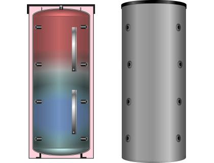 Мультибуферный аккумулятор тепла PS ECO 1500 MEIBES