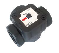 ТМ 2000 Dn40 Трехходовой регулирующий клапан для твердотопливных котлов 55*С