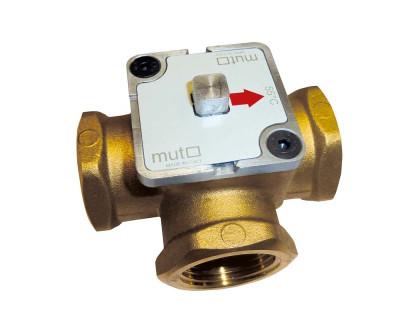 ТМ 3000 Трехходовой регулирующий клапан MUT для твердотопливных котлов