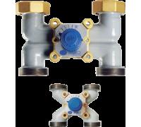 VMX-H  Смесительно-распределительный четырехходовой  вентиль Dn40