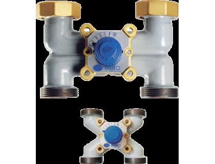 VMX-H  Смесительно-распределительный четырехходовой  вентиль Dn40 MUT
