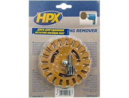 Насадка на дрель резиновая для удаления клеющих лент (блистер) HPX
