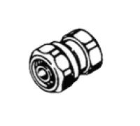 "Альтернативный переход для многослойной трубы, внутренняя резьба 1/2""х16"