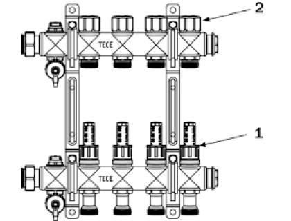 Стяжной штифт для стопора зубчатого колеса инструмента ТМ ТЕСЕ TECE