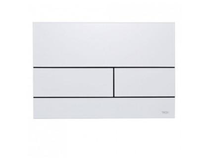 Панель смыва с двумя клавишами TECEsquare II, белая TECE