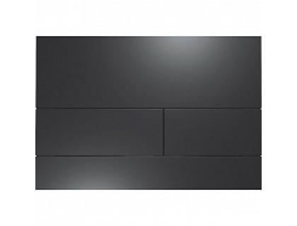 Панель смыва с двумя клавишами TECEsquare II, черный матовый TECE