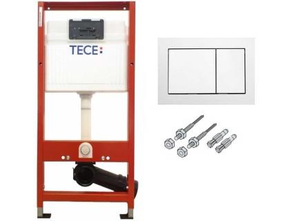 Комплект для установки унитаза 1120мм, (3 в 1), клавиша хром глянец TECE