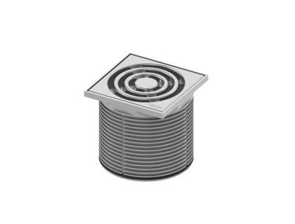 Верхняя вставка ТЕСЕdrainpoint S 100х100мм(h=8-92mm) TECE