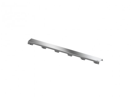 """Верхняя часть """"steel II"""", полированная для канала 700 мм TECE"""