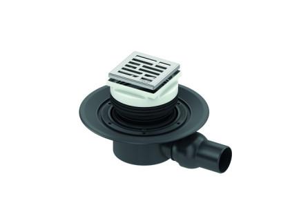"""Сифон, DN 50, с горизонтальным отводом """"Basic"""" TECE"""