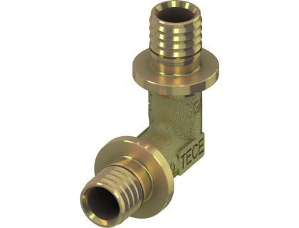 Колено (угол соединительный) 90 16 TECEflex