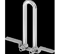 Монтажный узел для подключения радиатора настенный