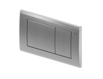 TECEplanus, панель смыва с двумя клавишами, нержавеющая сталь, сатин TECE
