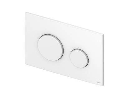 TECEloop Urinal, панель смыва для писсуара пластиковая, белая, антибактериальная TECE