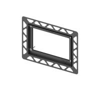 Монтажная рамка для установки стеклянных панелей TECEloop на уровне стены