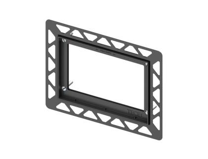 Монтажная рамка для установки стеклянных панелей TECEloop на уровне стены TECE
