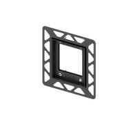 Монтажная рамка для установки стеклянных панелей TECEloop Urinal на уровне стены, хром глянцевый