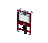 Застенный модуль (h = 820 мм) для установки подвесного унитаза, фронтальное или горизонтальное расположение панели смыва