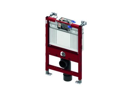 Застінний модуль (h = 820 мм) для установки підвісного унітазу, Фронтальне або горизонтальне розташування панелі змиву TECE