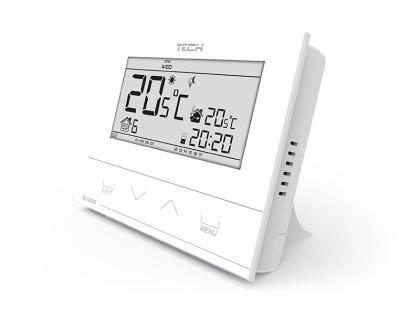 Термостат комнатный недельный беспроводной R-6s белый