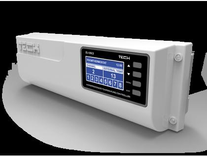 Контроллер термостатических клапанов проводной  L-8 (ST-263) TECH
