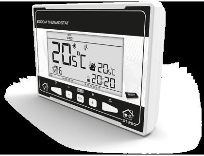 Термостат комнатный проводной ST-290 v3 белый TECH