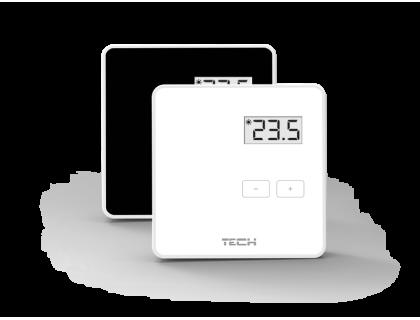 Термостат комнатный проводной ST-294 v1 черный TECH
