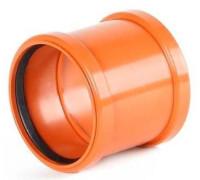 Муфта канализационная наружная, d 110 мм