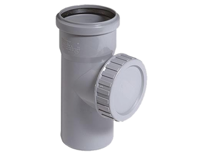 Полипропиленовая ревизия для внутренней канализации Valrom 110 мм, 1516085000