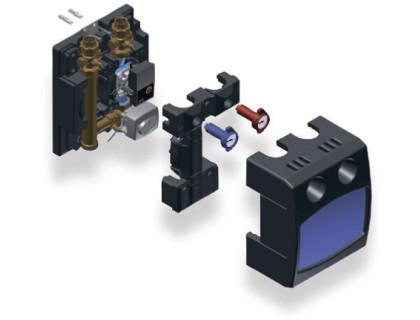 Насосный модуль FlowBox PASМ25 25/6 RS со смесителем и приводом, без насоса WATTS