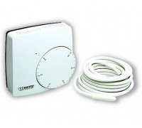 Электронный комнатный термостат WFHT-DUAL + датчик