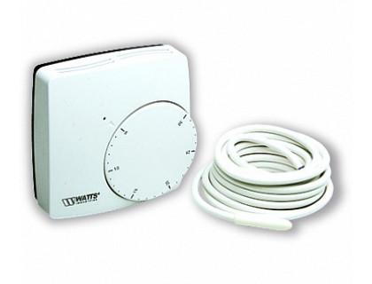 Электронный комнатный термостат WFHT-DUAL + датчик WATTS