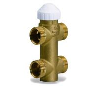 3-ходовий клапан (4 выхода)  для Фен-койлов 3/4 WATTS