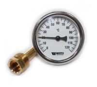 Термометр биметалический, аксиальный с гильзой F+R801 OR G1/2 (0 - 120C)