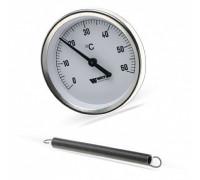 Термометр биметалический, накладной 120 С